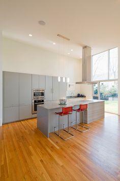 split level remodel,modern split level,architecture