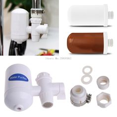 Home Kitchen Cleanable Ceramic Cartridge Faucet Tap Water Clean Filter Purifier -B119