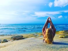 neyu_ma :  Your smile warms my heart and lightens my day.  #yoga #wanderlust #beachlife #bali #namaste #lifelover