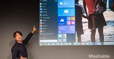 #Microsoft announced #Windows10, the next major upgrade to #Windows, at an event in San Francisco. And it marks the return of the Start menu.