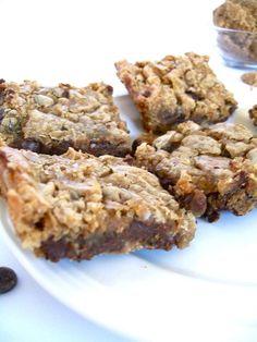 Chewy coconut chocolate bars... vegan