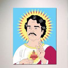 Pablo Escobar Saint Narcos Netflix Show TV Replica by ManCaveStore