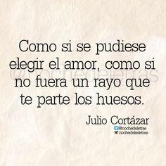 El amor...Cortázar