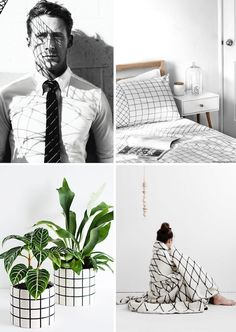 Have you noticed the abundance of grid patterns lately? I'm loving it! So much that I just switched my iPhone case for… a grid one! Here is some fun inspiration I compiled around the grid theme.  Do you like the 'grid' trend? I think it's a nice change from the 'marble' trend – seen...