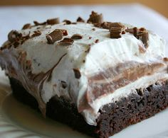 Brownie Dessert Recipe..