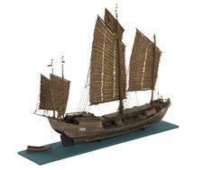 Cargo vessel; Junk; Antung Trader - National Maritime Museum