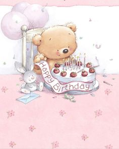 ♥ Roly Bear ♥ Happy  Birthday Sweet Sharon!!