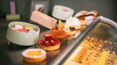 French pastries at Cafe Nikki, Miami