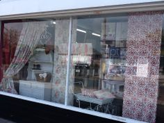 Beautiful display of our Soleil collection by the Curtain Company... www.prestigious.co.uk/collections/soliel
