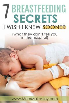 Learning how to breastfeed as a new mom isn't intuitive, and neither is breastfeeding a newborn. Here are 7 breastfeeding secrets to making it work that you'll be glad to know in advance | breastfeeding tips for new moms | motherhood Baby Nursery Diy, Baby Nursery Neutral, How To Increase Breastmilk, Child Development Stages, Rock N Play Sleeper, How To Breastfeed Newborns, Baby Hacks, Baby Tips, Baby Ideas