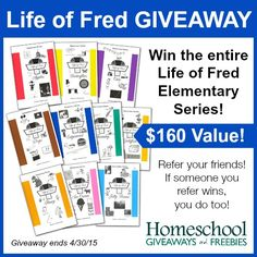 Win the ENTIRE Life of Fred Elementary Math Series