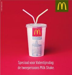 McDonalds Valentijnsdag
