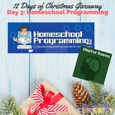 12 Days of Christmas: Homeschool Programming Giveawayhttp://www.onlypassionatecuriosity.com/giveaways/12-days-christmas-homeschool-programming-giveaway/?lucky=921