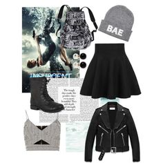 Insurgent by julie-buathier on Polyvore featuring polyvore, mode, style, River Island, Yves Saint Laurent, Pierre Dumas, Victoria's Secret and Kenneth Jay Lane