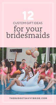 Looking for some cute and creative custom bridesmaids gift ideas for your besties? Check out this list of bridesmaids gifts from a variety of our favorite online shops! Bridesmaid Proposal Box, Be My Bridesmaid, Brides And Bridesmaids, Bridesmaid Gifts, Bridal Emergency Kits, Wedding Activities, Bachelorette Weekend, Maid Of Honor, Customized Gifts