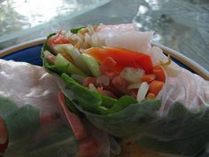 Cooking Light's Fresh Springrolls via La Mia Cucina, via Flickr