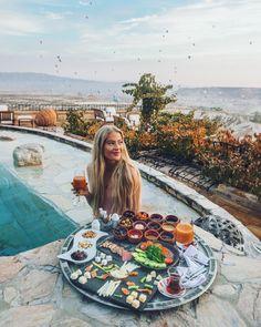 "35.6k Likes, 453 Comments - Hildegunn Taipale (@hilvees) on Instagram: ""Sunrise in Cappadocia """