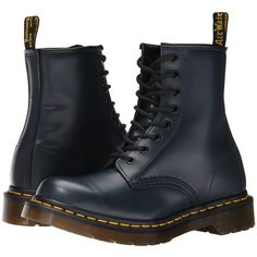 Dr. Martens 1460 W Women's Boots ($125) ❤ liked on Polyvore featuring shoes, boots, ankle booties, botas, ankle boots, bootie boots, short boots, dr martens boots and pattern boots