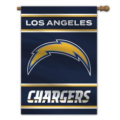 Los Angeles Chargers 2-Sided Outdoor Banner Flag