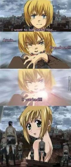SHINGEKI NO KYOJIN X BOKU NO PICO --OMG I KNEW IT LOL....