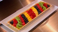 MasterChef Canada - French Fruit Tart.