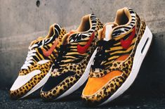 5ce94d56a5a A Look At All Three Colorways From The atmos x Nike Air Max 1 Animal Pack