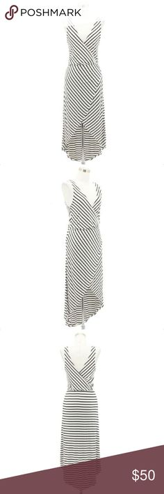 de6d0b92516 A57 BEBE Designer Dress Size XS Black White Stripe Item Details Lining  Yes  Stretchy