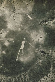 Blythe Intaglios - Near the Colorado River, on the low desert just west of Highway 95, lies one of the most spectacular ancient creations in California––a group of immense drawings that, like Peru's famous Nazca lines, can only be seen properly from the air.