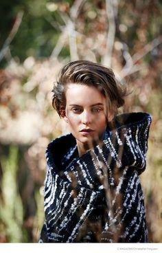 Ellinore Erichsen Takes on Outdoors Style for C Magazine