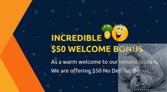 Бездепозитный бонус 50$ - Фора для Форекс