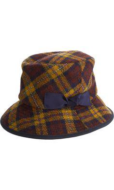 Albertus Swanepoel Harris Tweed Bucket Hat