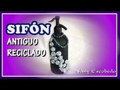 SIFÓN ANTIGUO RECICLADO - YouTube