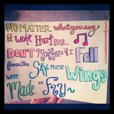 little mix song lyrics wings - Google Search