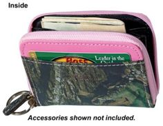 mini zip camo wallet... haha accessories not included - you mean I don't get the Bass Pro credit card too?? :)
