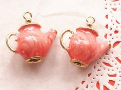1 Pcs Teapot Metal Accessory Charms Charm by SweetCandyBeadshop