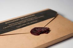 clever- I fancy making some chocoaltely-looking wax seals now!