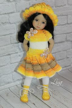 """he outfit for doll 13"""" Dianna Effner Little Darling"""