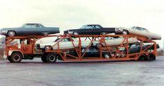 1965 Cadillacs On Carrier