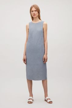 COS | Sleeveless dress with open back