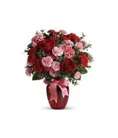Nothing is more romantic than mixed red and pink flowers. Flowers for Romance are appreciated by your special someone, and this Romantic bouquet is more than enough to express your love. Romantic Flowers, Pink Flowers, Flower Delivery Service, Red And Pink, Bouquet, Romance, Romance Film, Romances, Bouquet Of Flowers