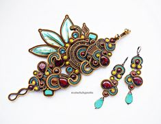 Hey, I found this really awesome Etsy listing at https://www.etsy.com/listing/571329142/bohemian-soutache-set-fashion-soutache