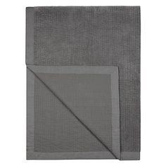 Buy John Lewis Linen Edge Velvet Throw Online at johnlewis.com