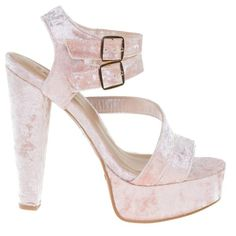 #Clarice42S Retro Chunky Block Heel Dress Sandal, Open Toe Double Strap Shoes