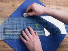 Tutoriale DIY: Cómo bordar Sashiko japonés vía DaWanda.com