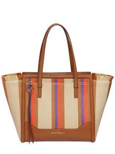 b351a9ba87c Salvatore Ferragamo Straw Bag, Luxury Shop, Salvatore Ferragamo, Florence,  Amy