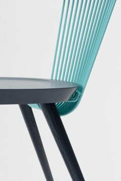 H Furniture's WW Chair, where the Ws stand for Windsor and Wire, now come in six bold color ways as part of a collaboration with Studio Makgill.