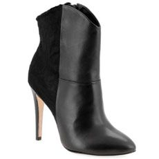 Madison Harding Leather and calf hair boot