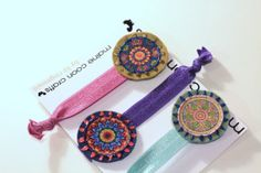 Romantic Vintage  Hair Ties Bohemian Hair Wrap by MaineCoonCrafts, $19.00