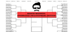 March Madness: The Overrated Philosophers Bracket | Critical-Theory.com