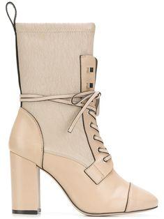 0f44029a17f8 STUART WEITZMAN STUART WEITZMAN GLEAMING TRIPON BOOTS - NUDE   NEUTRALS.   stuartweitzman  shoes